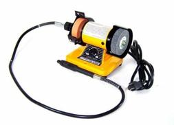"Neiko 10207A 3"" Mini Bench Grinder and Polisher with Flexibl"