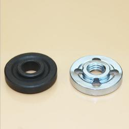 1pair Replacement Angle Grinder Part Inner Outer Flange Nuts