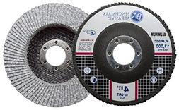 "Benchmark Abrasives 4.5"" x 7/8"" Type 27 Stearate Coated Flap"