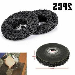 2pcs Set Rust Paint Removal Abrasive Disc Grinding Wheel For