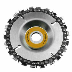 4 Inch  Angle Grinder Chainsaw Disc Chain Saw Blade 22 Tooth