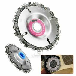 4 inch Angle Grinder Disc and 22 Tooth Chain Saw Blade For W