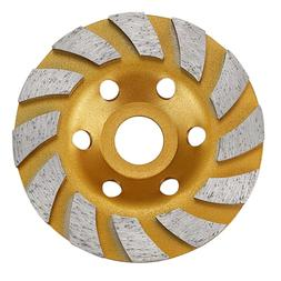 4 inch cement Turbo diamond cupstone <font><b>grinder</b></f