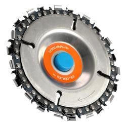 4 Inch <font><b>Grinder</b></font> Disc With Chain 22 Tooth