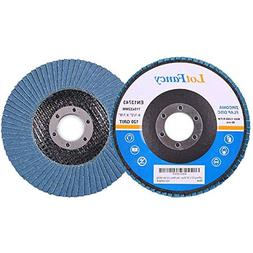 4.5 Inch Flap Discs - 20PCS 40 60 80 120 Grit Assorted Sandi