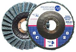 "5 Pack - 4-1/2"" x 7/8"" Benchmark Abrasives Surface Condition"