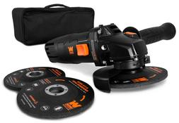 WEN 94475 7.5-Amp 4-1/2-Inch Angle Grinder with Reversible H