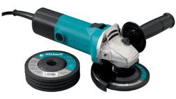 Makita 724603-3 4-1/2-Inch Grinder with 5 Wheels