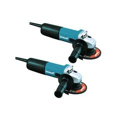 Makita 9557NB2 7.5 Amp 4-1/2 in. Slide Switch AC/DC Angle Gr