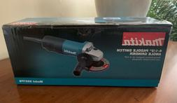 "MAKITA 9557PB 4‑1/2"" PADDLE SWITCH ANGLE GRINDER, with AC/"