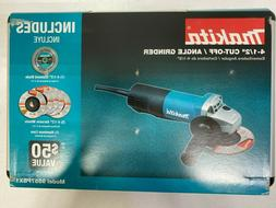 "Makita 9557PBX1 4-1/2"" Paddle Switch Cut-Off/Angle Grinder -"