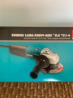 "MAKITA 9564CV 4-1/2"" SLIDE SWITCH VARIABLE SPEED ANGLE GRIND"