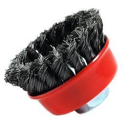 Forney Welding - 72757 - 2-3/4X5/8-11 Thd Knot Cup Brush - P