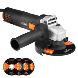 Angle Grinder 4-1/2-Inch 6.3-Amp Cutting Grinding Metal Hand