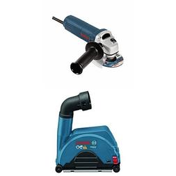 Bosch Angle Grinder with Small Angle Grinder Dust Collection