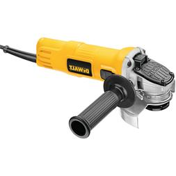 DEWALT Angle Grinder, One-Touch Guard, 4-1/2 -Inch ,Yellow,S