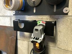 Angle Grinder Rack Holds 2 Angle grinders that are 4 1/2 wit