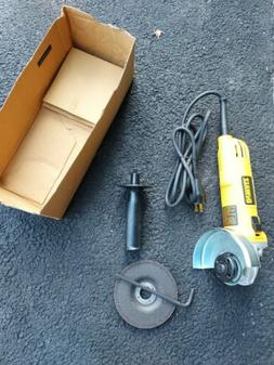 DEWALT DWE4011 Small Angle Grinder with One-Touch Guard, 4-1