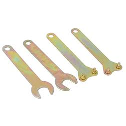 uxcell Angle Grinder Spanner Wrench Lock Nut Hand Tool Bronz