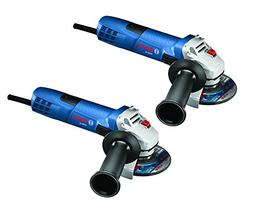 """2pk 4-1/2"""" Small Angle Grinder Bosch Tools GWS8-45-2P New"""