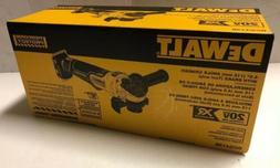 "BRAND NEW DeWALT DCG413B 20V MAX XR Li-Ion 4.5"" Brushless An"