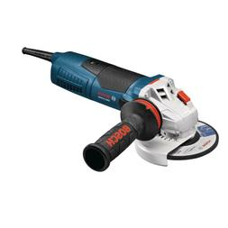 "Bosch Corded Angle Grinder 13 Amp 5"" Variable Speed Auxiliar"