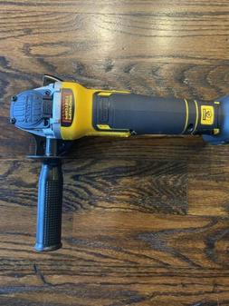 DEWALT DCG413B 20V MAX XR Brushless Small Angle Cordless Gri