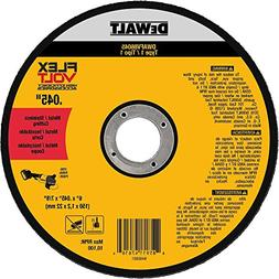 "DEWALT DWAFV86045 FLEXVOLT T1 Cutting Wheel, 6"" x .045"" x 7/"
