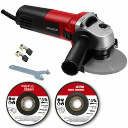 "Electric Angle Grinder 4-1/2"" 4.8 Amps 11500 RPM for Cutting"