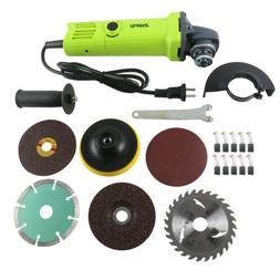 Electric Angle Grinder Heavy Duty Cutting Polishing Sanding