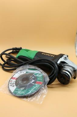 Hitachi G12SQ 4-1/2 Inch 7.4-Amp Angle Grinder with Paddle S