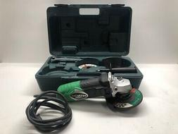 HITACHI G12SR3 DISC GRINDER WITH CASE