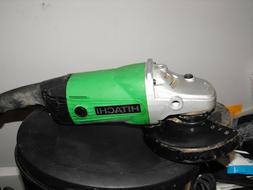 """Hitachi G18SS 7-Inch 15-Amp Angle Grinder """"pre owned"""""""