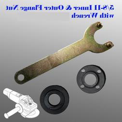 Grinder Flange Lock Nut Wrench for Dewalt Milwaukee Makita B