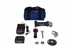 "Bosch GWS18V-45B14 18V 4-1/2"" Angle Grinder Kit with CORE18V"