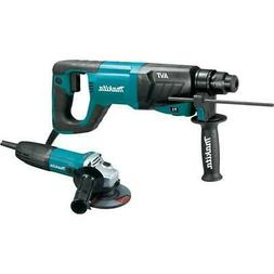 Makita HR2641X1 1 in. AVT Rotary Hammer and 1/2 in. Angle Gr