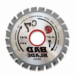 KwikTool USA BB450 C7 Bad Blade 4-1/2-Inch 24 Tooth with 1-I