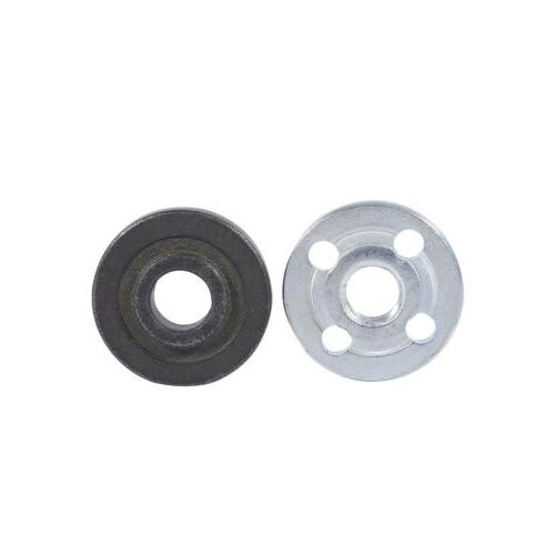 1 Pair Replacement Angle Grinder Part Inner Outer Flange to