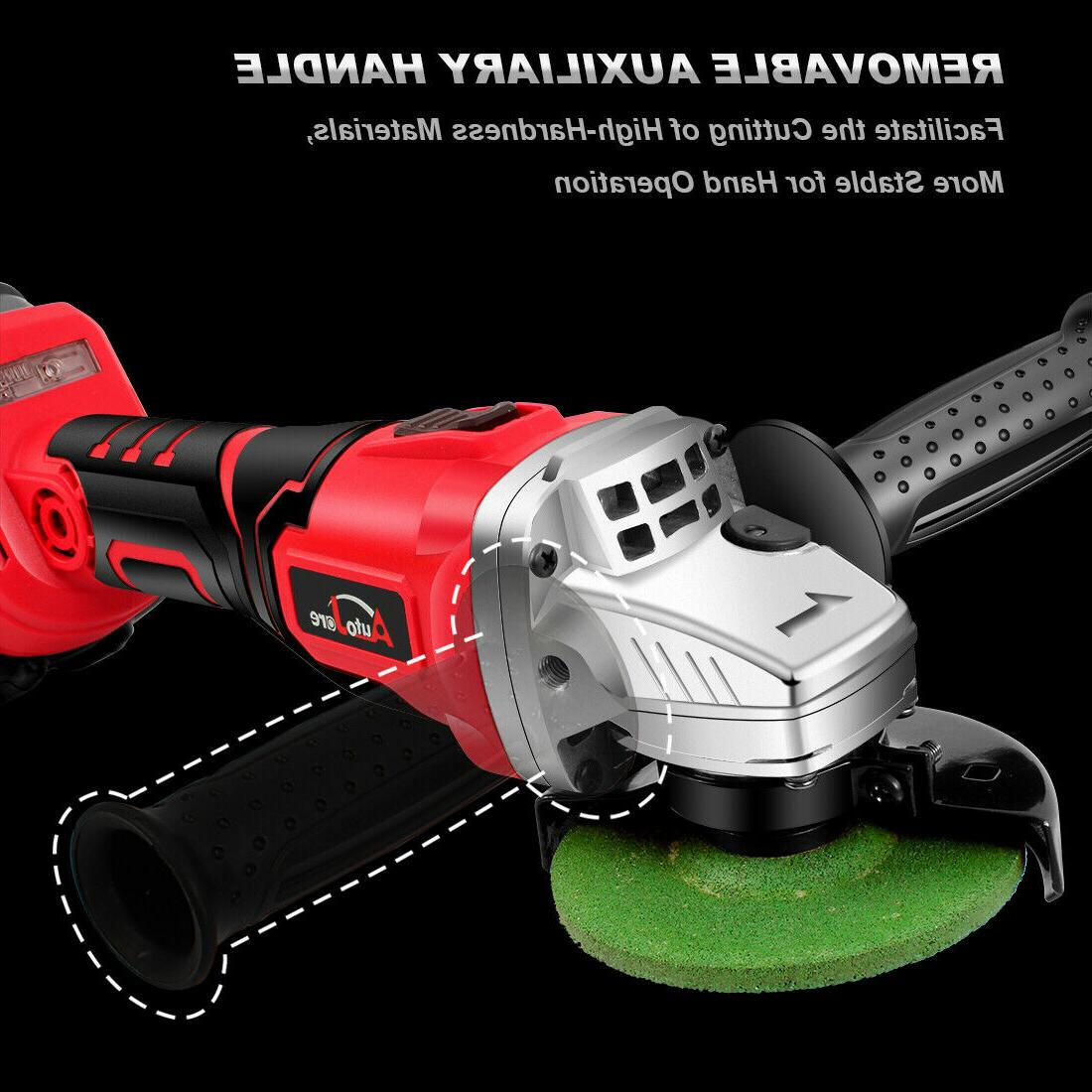 20V 18V cordless Grinder brushless Power Tool