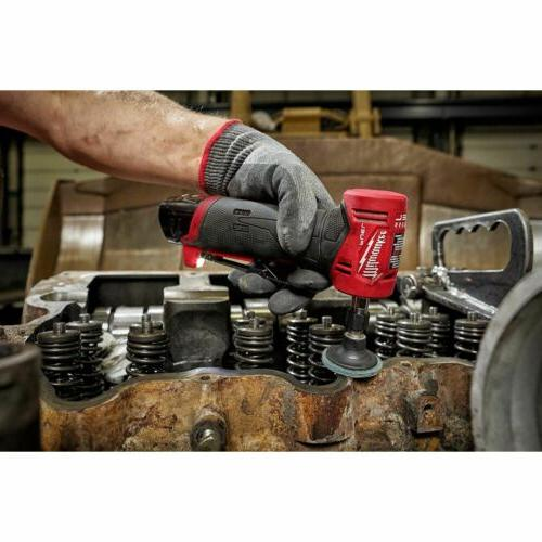 "Milwaukee 2485-22 M12 1/4"" Right Angle Die Grinder Kit"