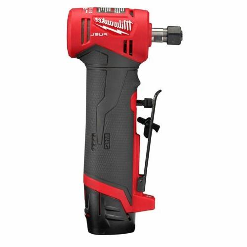 "Milwaukee 1/4"" Angle Grinder w/ Batteries"