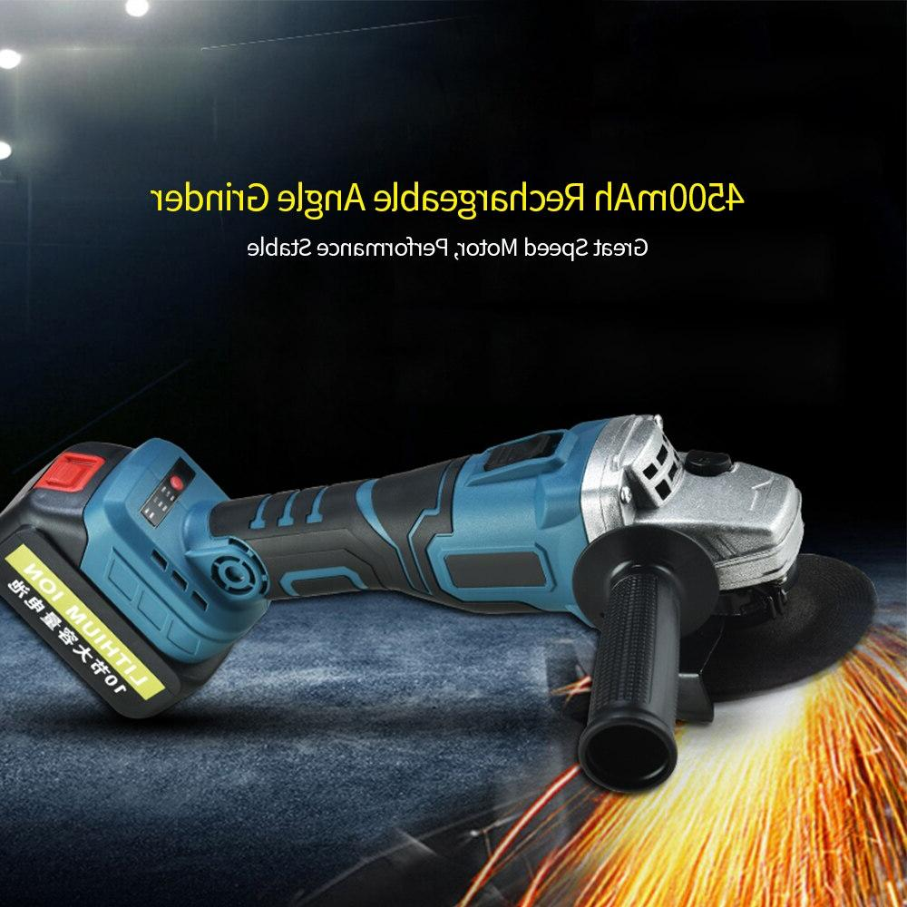 3000mAh Manual <font><b>angle</b></font> <font><b>grinder</b></font> Brushless <font><b>Angle</b></font> <font><b>Grinder</b></font> <font><b>Grinder</b></font> Angular Finishing