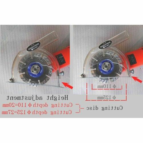 """4"""" Protective Hand Grinder Dust Shroud Cover Safety Guard"""