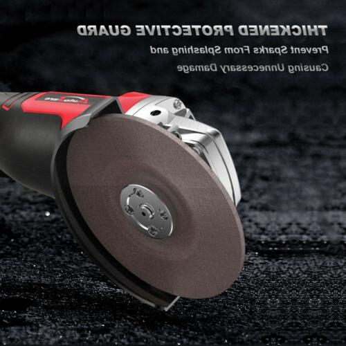 """4.5"""" Angle Grinder Cordless Cutting Li-ion Charger"""