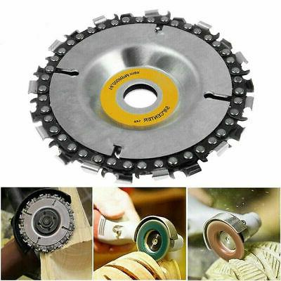 4 Inch Chainsaw Disc Blade Tooth Wood