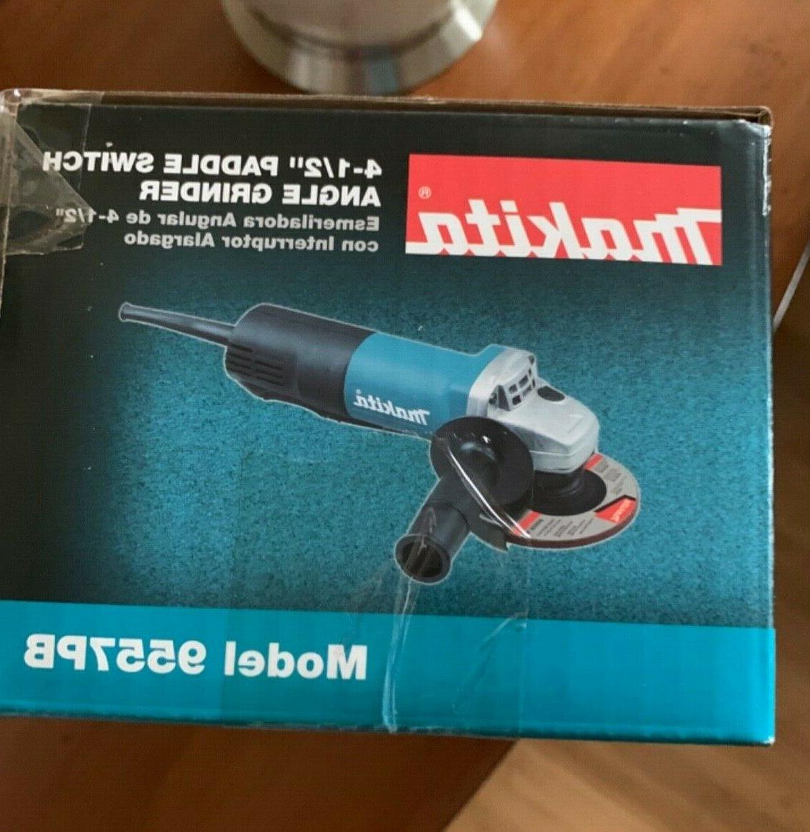 MAKITA 9557PB PADDLE SWITCH ANGLE GRINDER, AC/DC NEW!!!