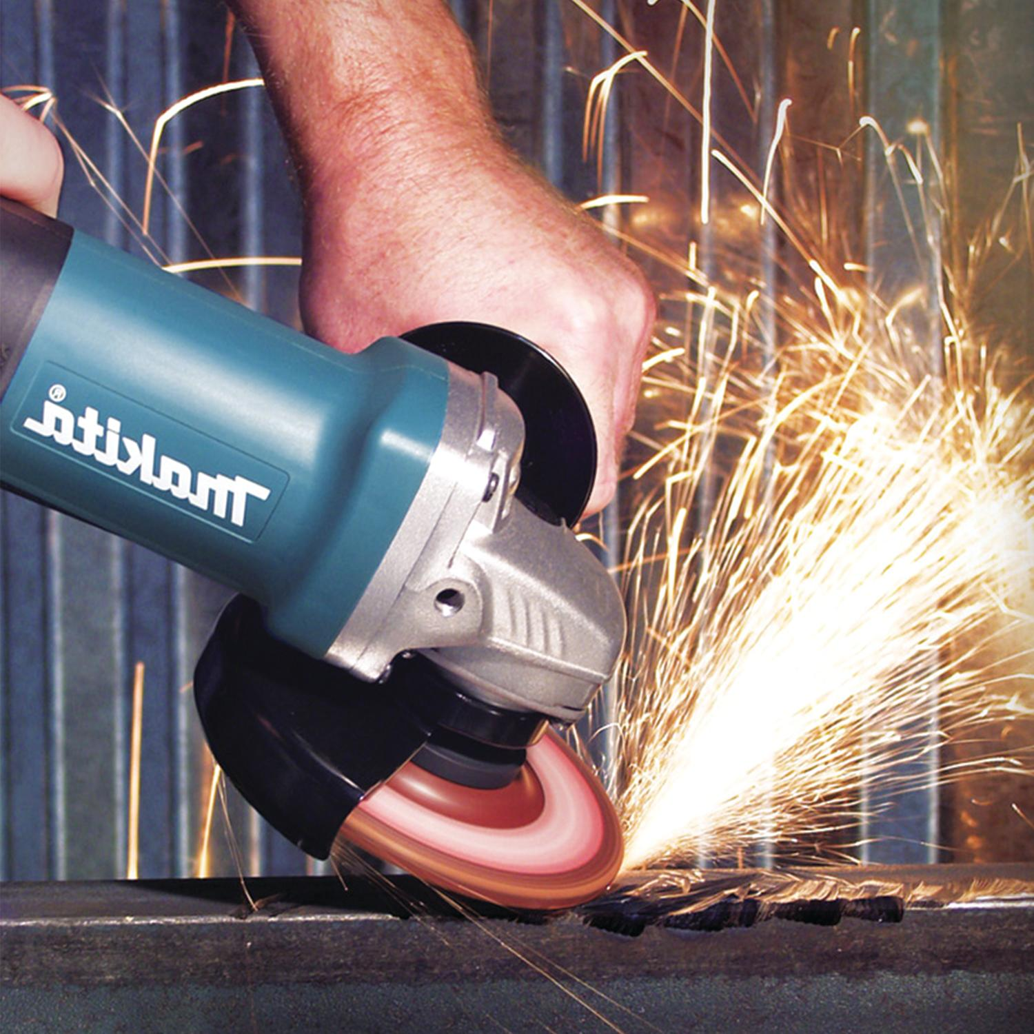 """Makita 9557PB 4‑1/2"""" Paddle Switch Grinder with AC/DC Switch"""