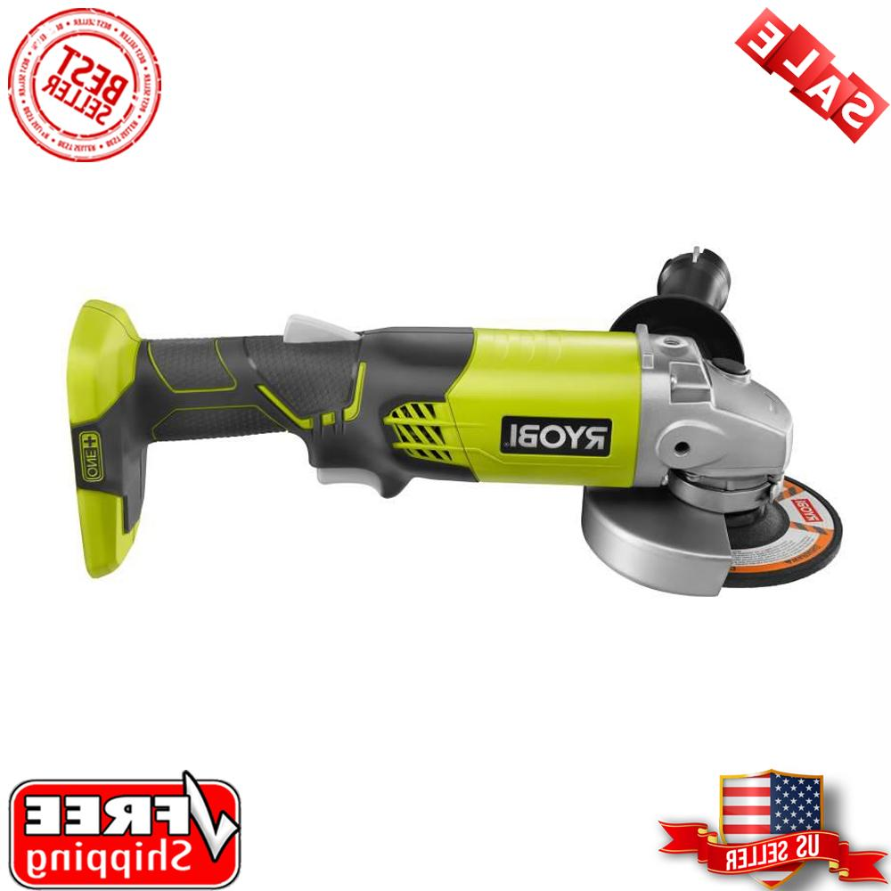 cordless angle grinder portable power