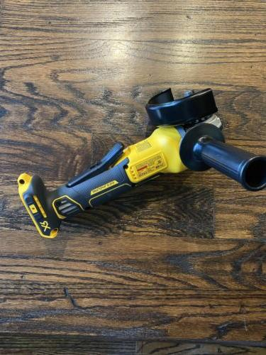 DEWALT XR Brushless Small Cordless Grinder Bare Tool