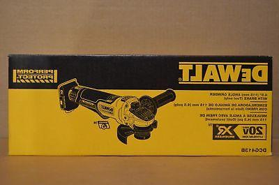 Brand 20V MAX Paddle Switch Angle Grinder